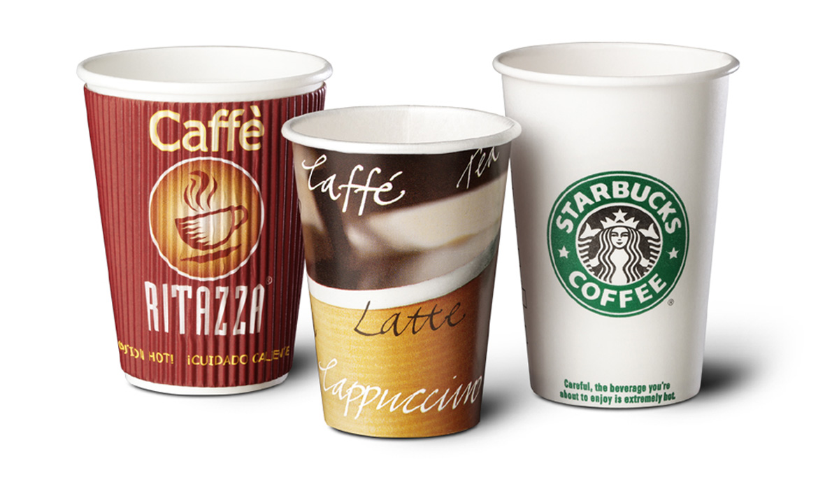 Oz Short Paper Cups For Hot Drinks