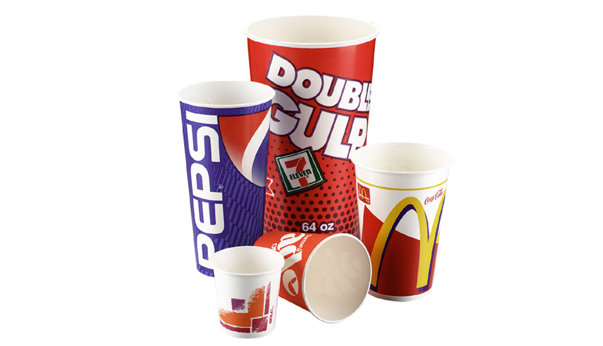 Two Piece Paperboard Beverage Cups